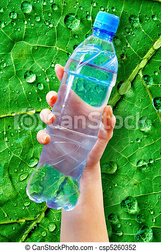 bottle water - csp5260352