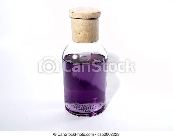Bottle with Liquid - csp0002223