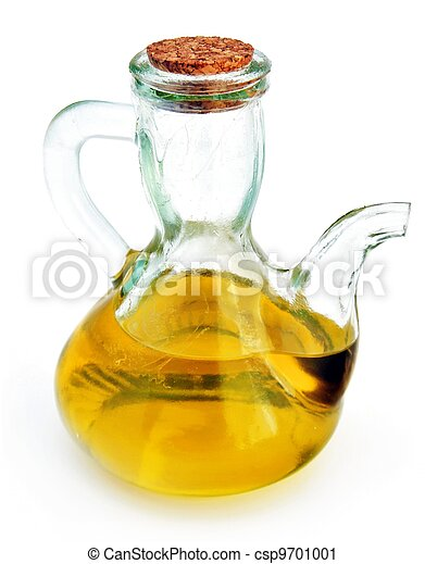 Bottle with olive oil - csp9701001