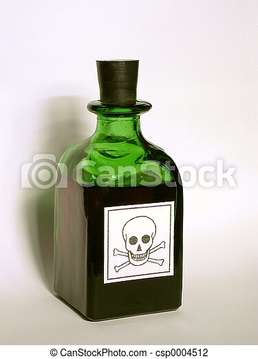 Bottle with Poison - csp0004512
