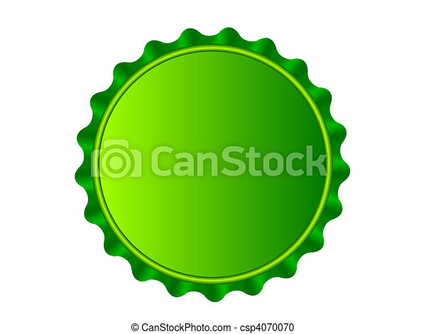 illustration of the bottlecap isolated over white background vector rh canstockphoto com bottle cap clip art free bottle cap clip art black and white