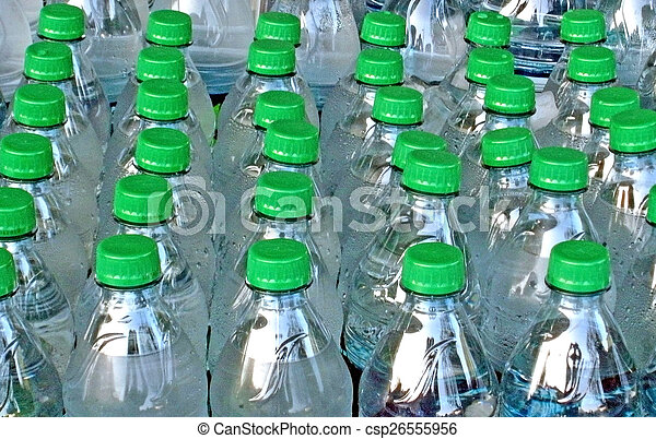 Bottled Water - csp26555956