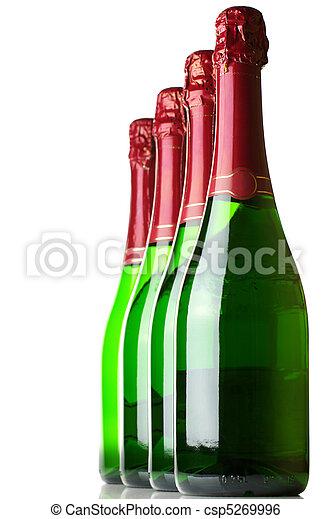 Bottles of champagne - csp5269996