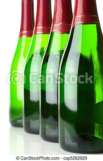 Bottles of champagne - csp5262929