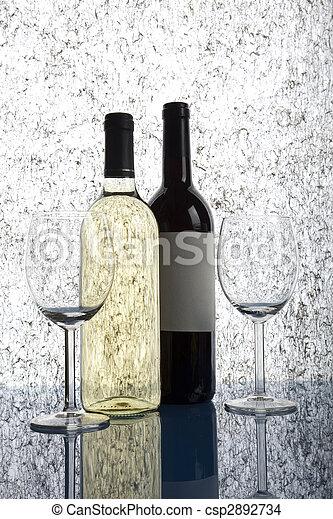 Bottles of wine - csp2892734