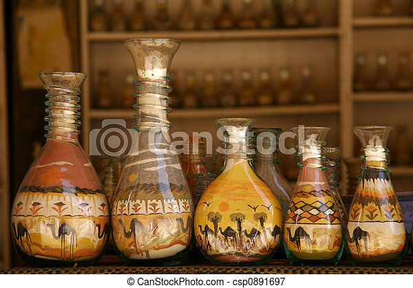 bottles with sand - csp0891697