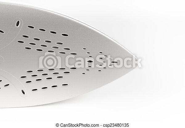 Bottom of an iron - csp23480135