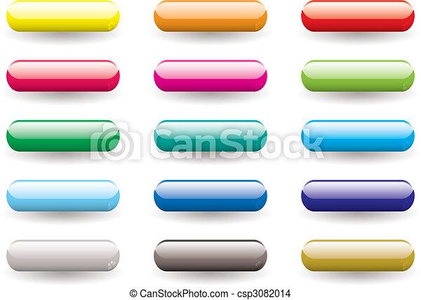 bottone, set, gel - csp3082014