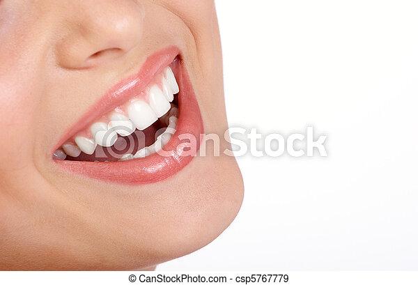 bouche, femme - csp5767779
