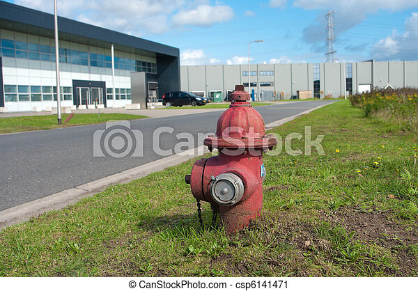 bouche incendie - csp6141471