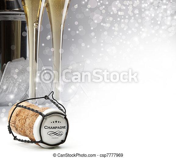 bouchon champagne - csp7777969