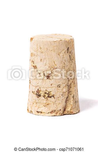bouchon, naturel, bouchon - csp71071061