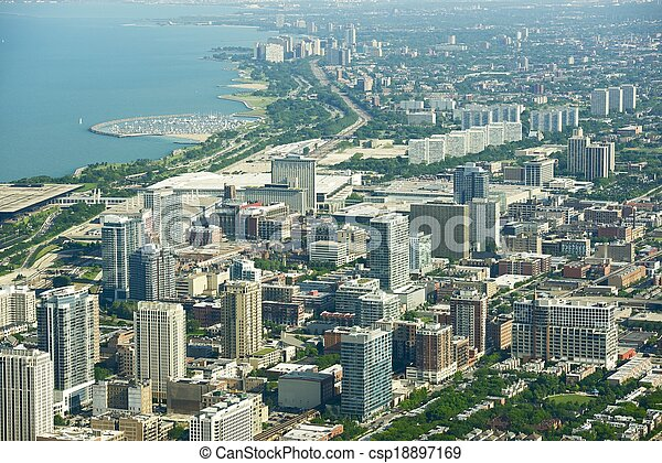 boucle, chicago - csp18897169