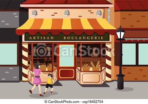 Boulangerie Francais Magasin