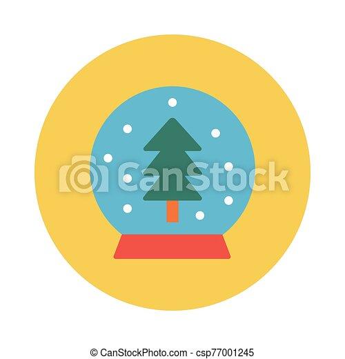 boule de neige - csp77001245