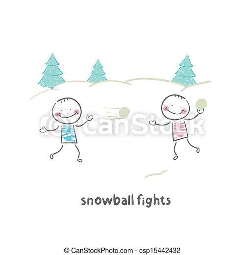 boule de neige - csp15442432