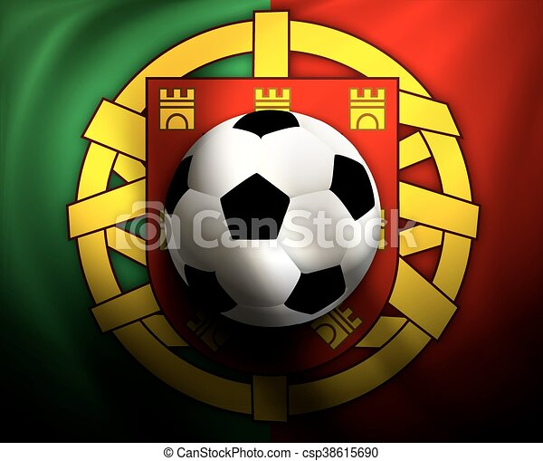 boule football, fl, fond - csp38615690