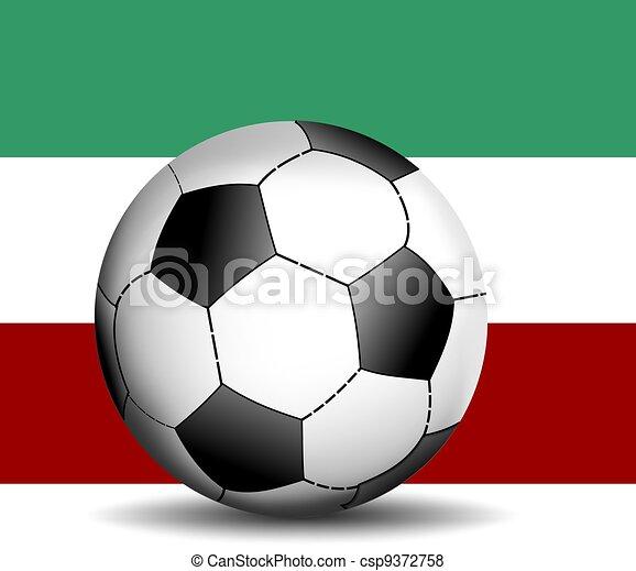 boule football, italien - csp9372758