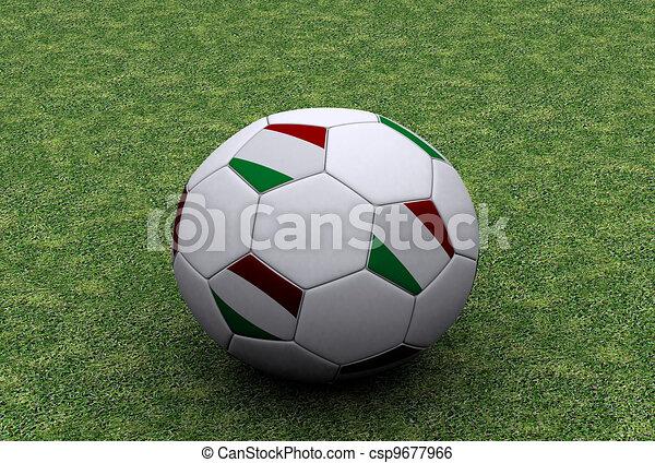 boule football, italien - csp9677966