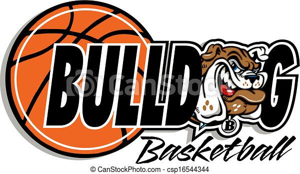 bouledogue, basket-ball - csp16544344