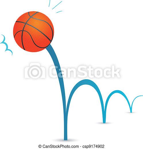 Bouncing ball - csp9174902