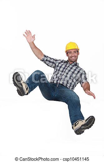 bouncing young craftsman - csp10451145