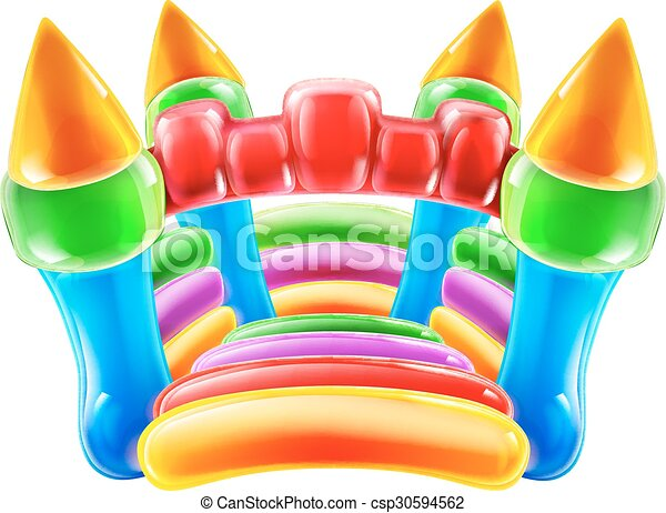 Bouncy Castle - csp30594562