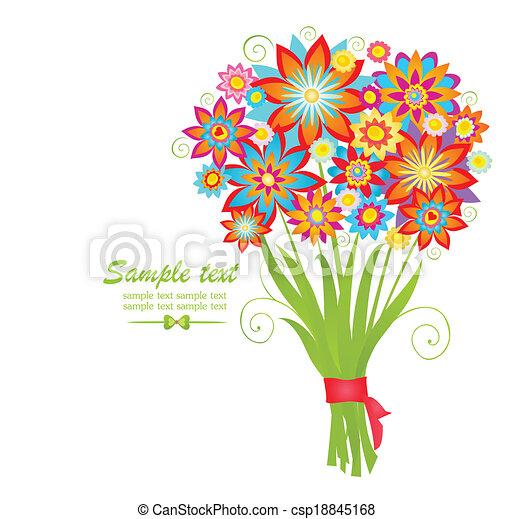 Bouquet - csp18845168