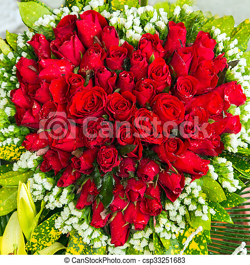 Bouquet Coeur Fleurs Rose Coeur Nature Bouquet Rose