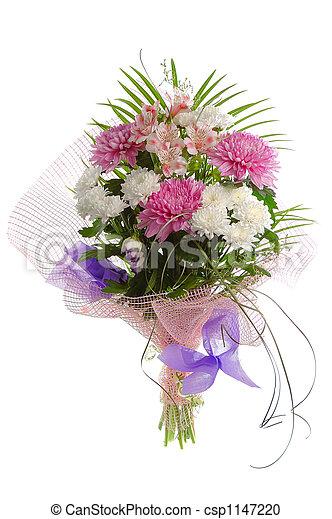 bouquet, fête - csp1147220