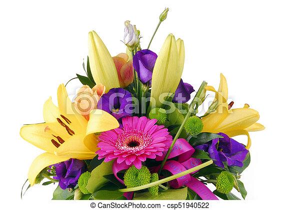 Bouquet Fleurs Anniversaire Heureux
