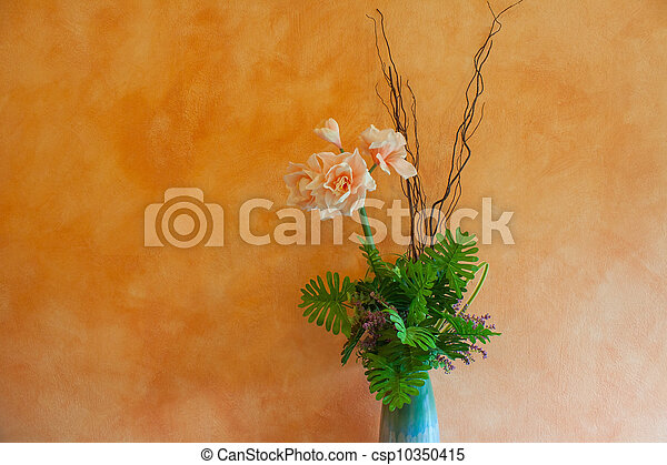 bouquet, fleurs - csp10350415