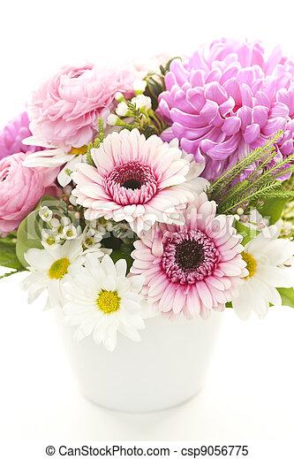 bouquet, fleurs - csp9056775