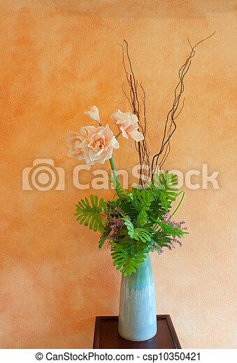 bouquet, fleurs - csp10350421