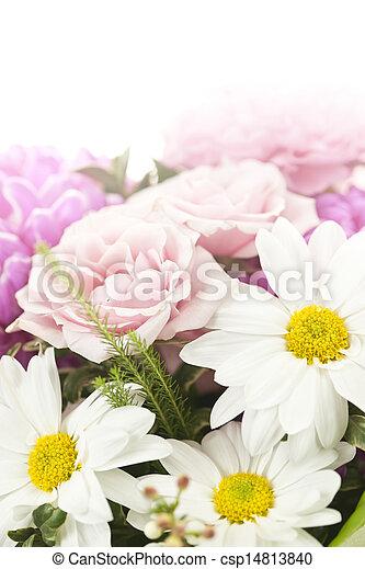 bouquet, fleurs - csp14813840