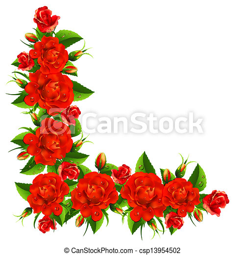 Bouquet from roses - csp13954502