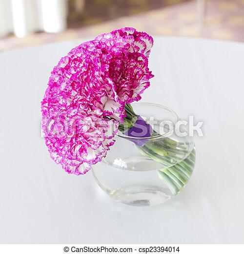bouquet in vase - csp23394014