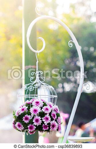 Bouquet made of Chrysanthemum - csp36839893