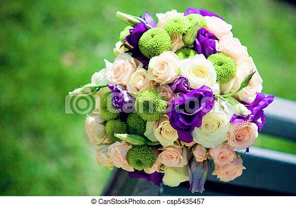 bouquet, nuptial - csp5435457