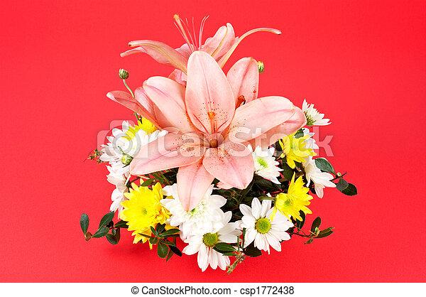 Bouquet of flowers - csp1772438