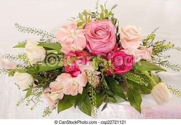 bouquet of flowers - csp22721121