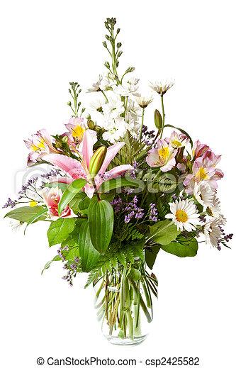 bouquet of flowers - csp2425582