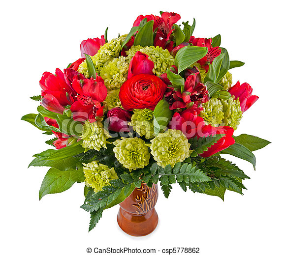 Bouquet of flowers - csp5778862