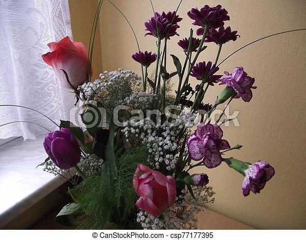 Bouquet of flowers - csp77177395