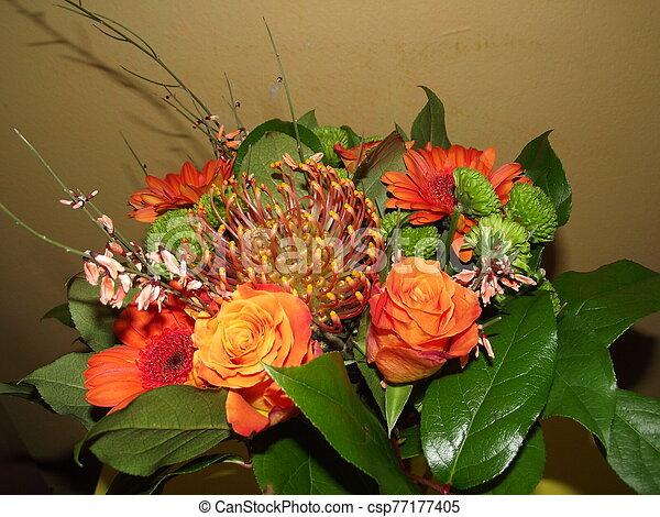 Bouquet of flowers - csp77177405