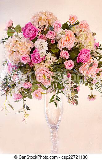 bouquet of flowers - csp22721130