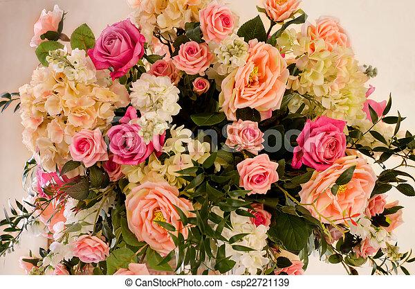 bouquet of flowers - csp22721139