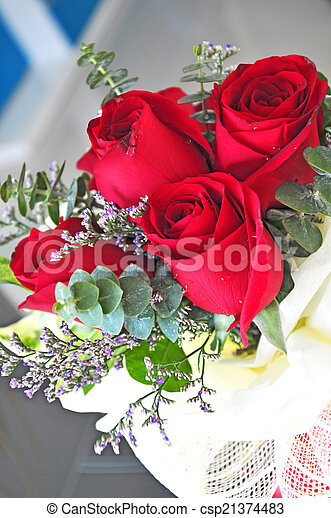 Bouquet Of Roses For Wedding Anniversary