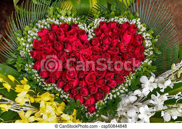 Bouquet Rose Rouges