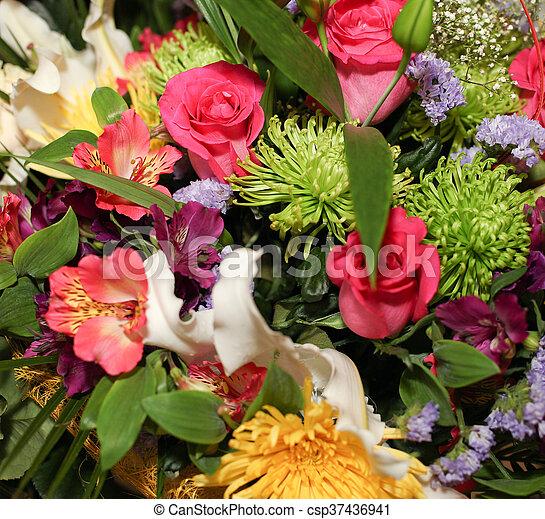 bouquet - csp37436941